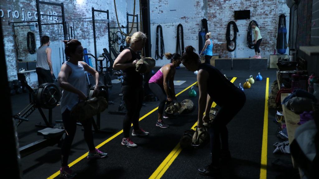 group fitness melbourne strength training